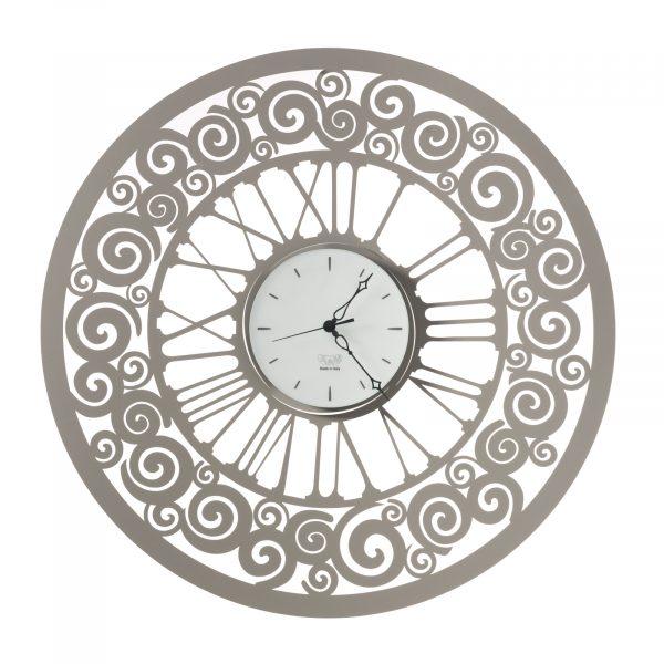 Orologio da parete con spirali Rococ?