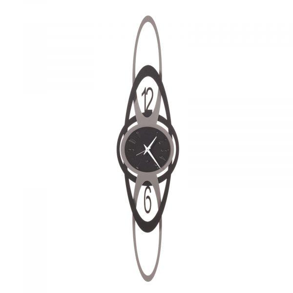Orologio da parete geometrico verticale Niky