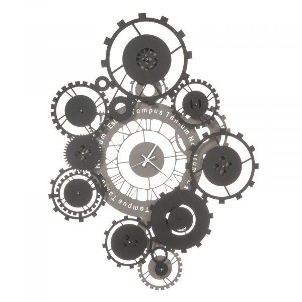 Orologio contemporaneo con citazione Tempus