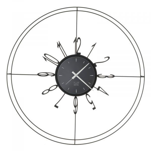 Orologio da parete con linee sottili Voyager