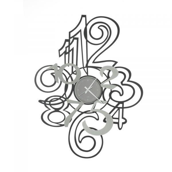 Orologio da parete con numeri sovrapposti Profile