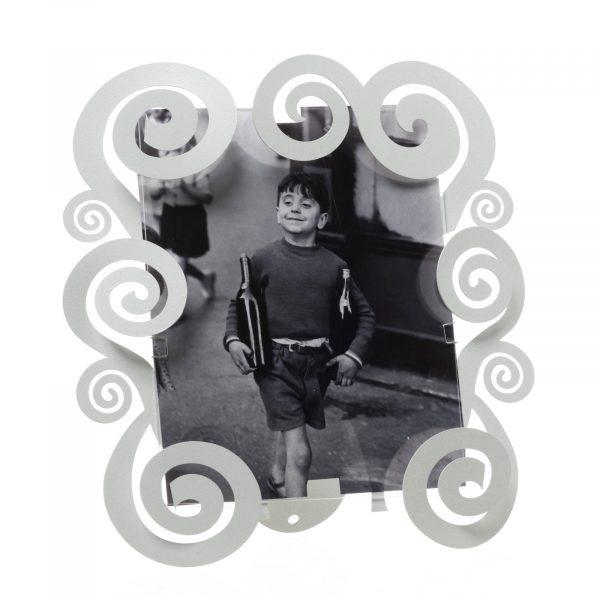 Porta foto grande con spirali Cloe