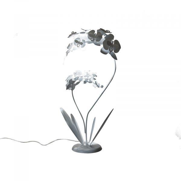 Lampada da terra pianta Orchidea Grande di Arti e Mestieri