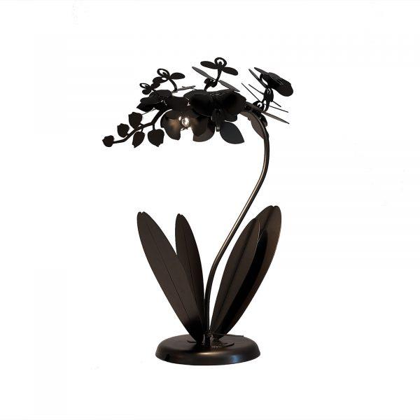 Lampada da tavolo floreale Orchidea piccola