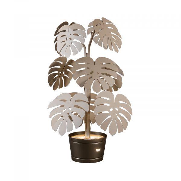 La lampada piccola con foglie di monstera di Arti e Mestieri