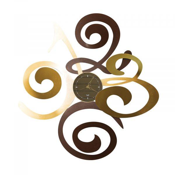 Orologio di design grande Filomena di Artie e Mestieri