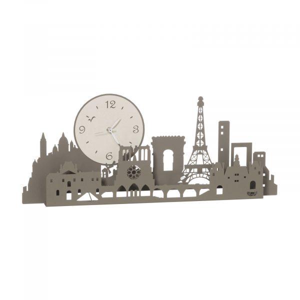 Orologio con Tour Eiffel Paris city