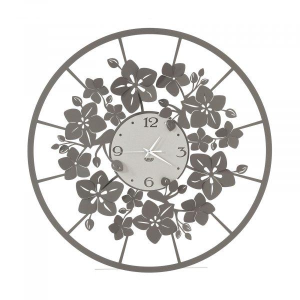 L'orologio da parete floreale Fiori di Loto dalle graziose decorazioni floreali