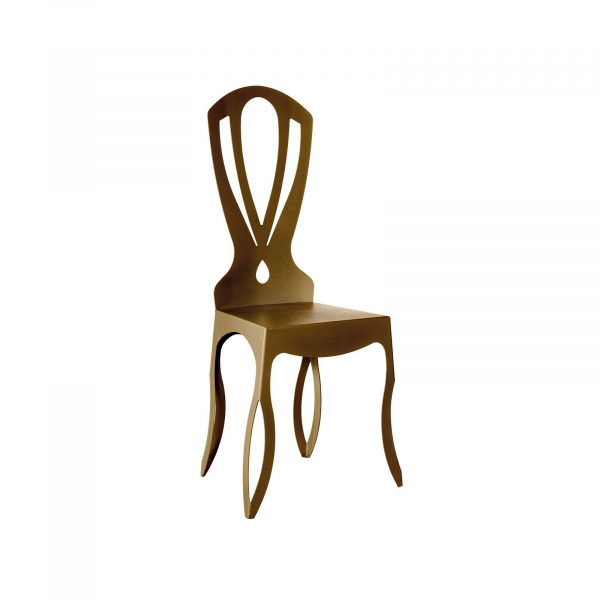 La sedia moderna e di design Minerva di Arti e Mestieri rende elegante qualsiasi spazio