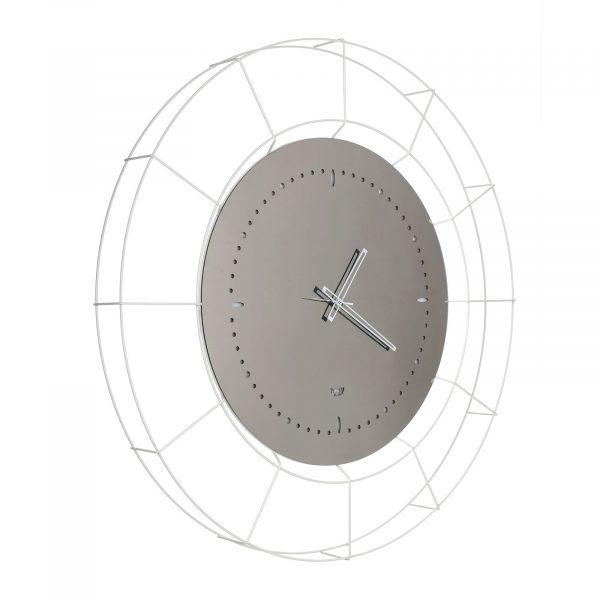 Orologio da parete di grandi dimensioni Nudo di Arti e Mestieri con quadrante a specchio