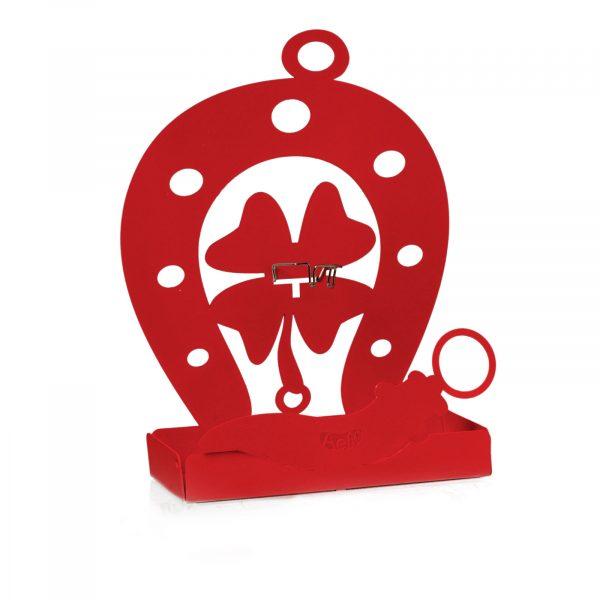 Porta zampirone di Artie e Mestieri Buona Fortuna di colore rosso
