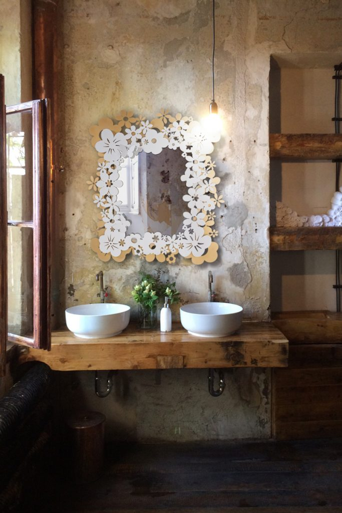 Specchio Daisy di Arti e Mestieri